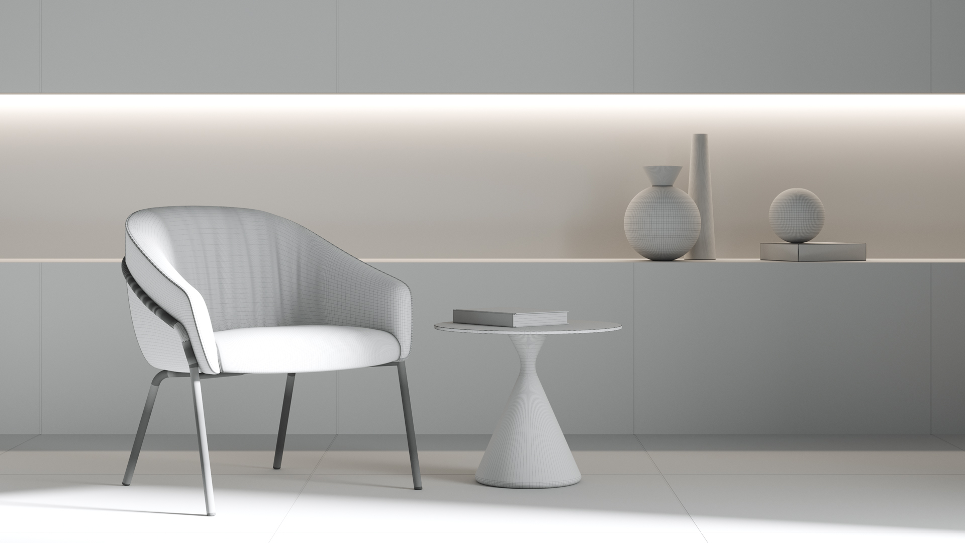 3D Furniture Modelling CGI Visualisation - CGI Services